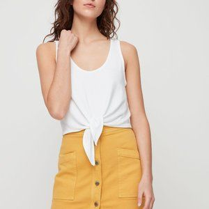 ARITZIA Wilfred Free - TIE-FRONT TANK TOP